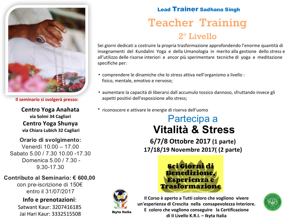 Locandina_Vitalita e Stress_2017