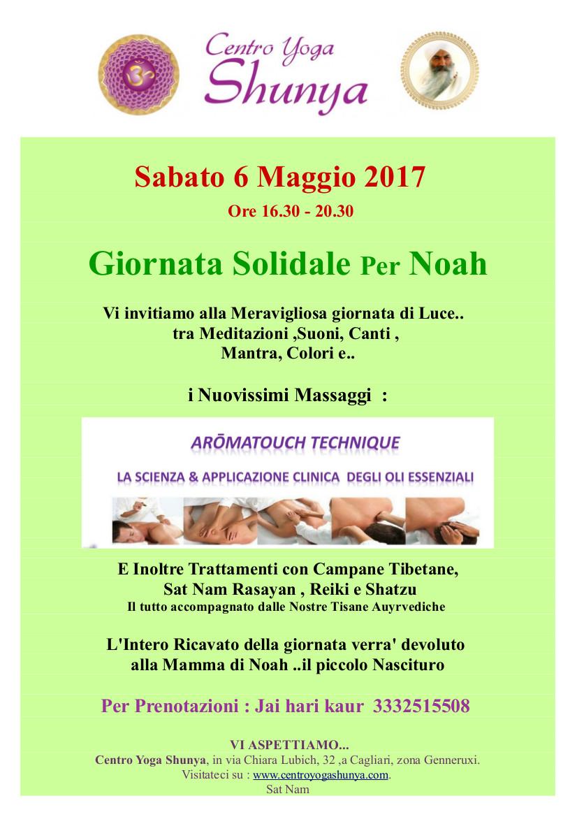 manifestazione solidale per Noah