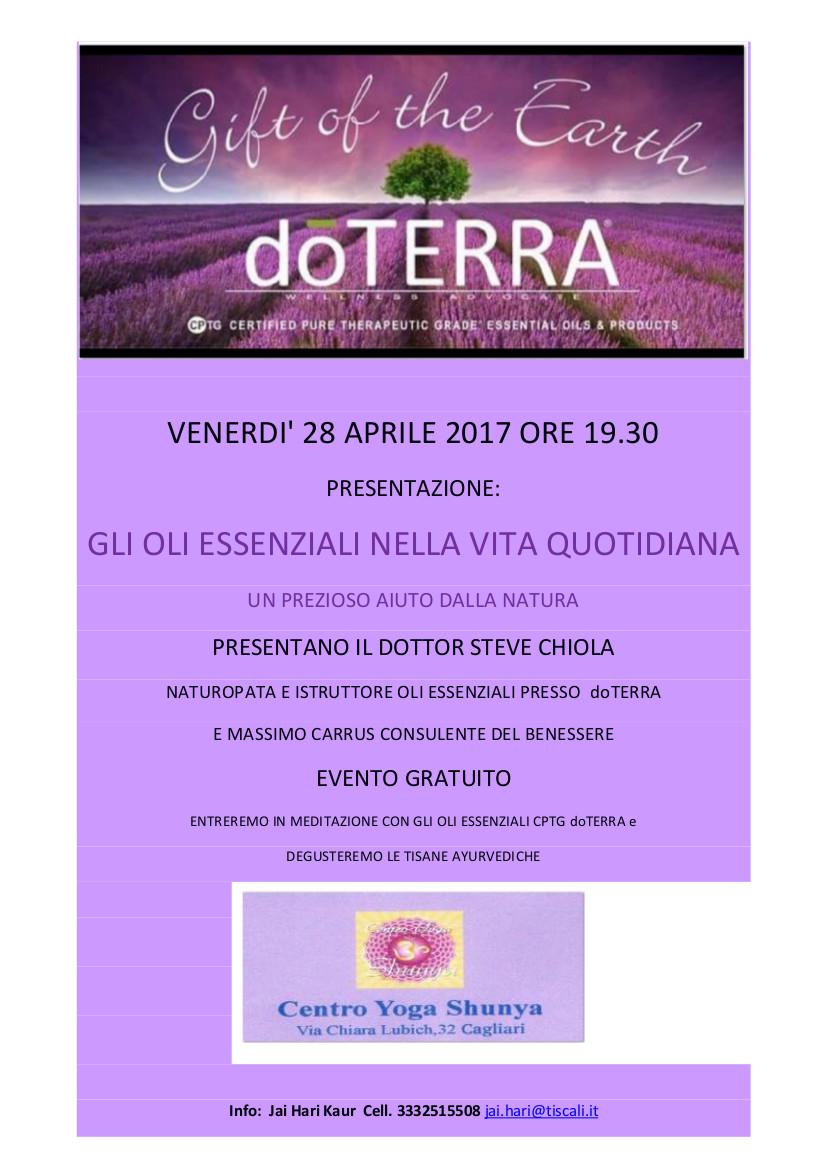 presentazione DoTerra 28 aprile