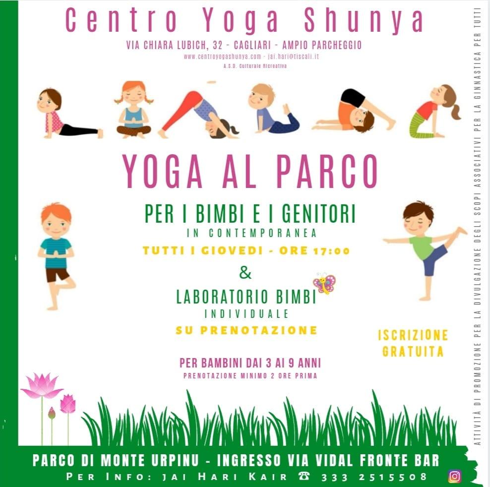 Yoga al parco @ Monte Urpinu