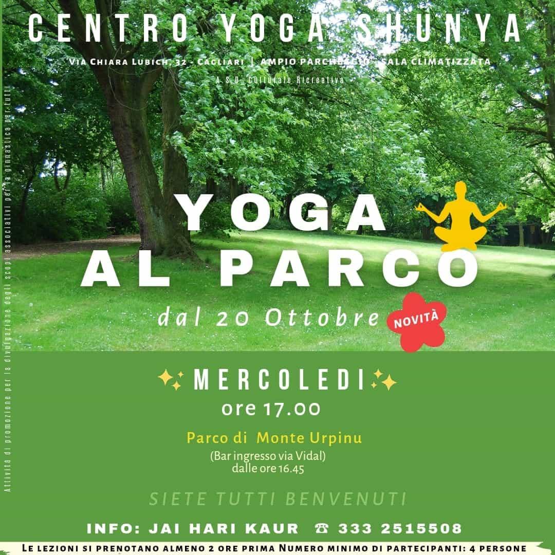 Yoga al Parco @ Parco Monte Urpinu